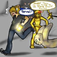 Pewdiepie and Stephano by Simple-PhobiaXD