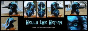 Hella the Heron by stuffedpanda-cosplay