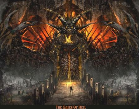gate of hell by Apophiz