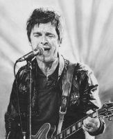 Noel Gallagher by electrichyena