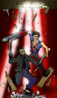CLASH Jason VS Ash by theEyZmaster