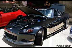 Honda S2000 black by MurilloDesign