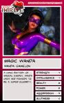 Trading Card - Magic Wanda by Gong63