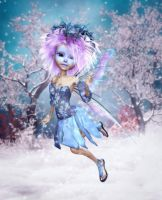 Faerie of Wintertide by RavenMoonDesigns