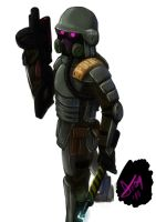 riot armour by Kovaneer