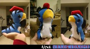 Monster Hunter Plushie: Velociprey - SOLD. by Zulema