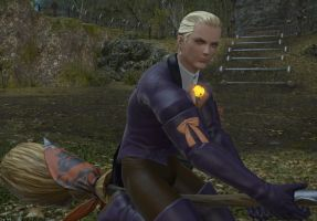 ffxiv Captain Wesker is NOT happy by Frigidchick