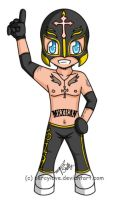 chibi - wwe- rey mysterio by percylove