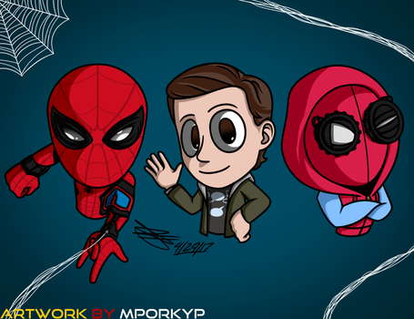 Peter Parker -  The Spider-Man by mporkyp