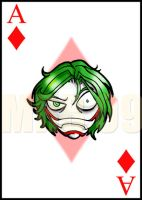 Joker Card by IndyScribbable