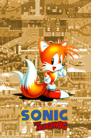 Tails Gen iPhone bg by gameover89