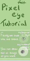Pixel eye tutorial by leensor