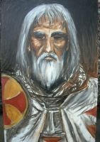 Jacques de Molay WIP by dashinvaine