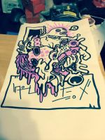 Ring of Pink Slime by ForGutsAndGory