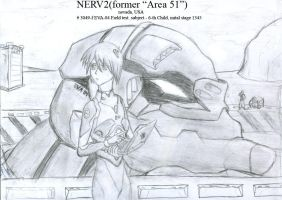 pilot of EVA-04, 6-th Child by SolidJB