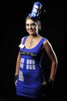 My Tardis Cosplay 2011 by Raechi-Cherie