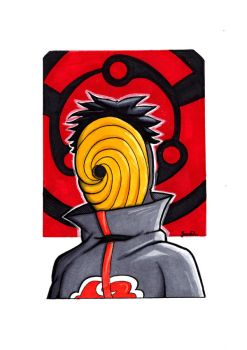 Big Sketch Naruto Tobi by rustythewonderdog