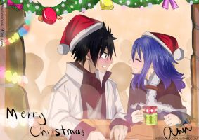 (Fairy Tail) Christmas Present II ~Gruvia by xBebiiAnn