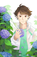 Oikawa blues by claudiantly