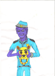 Vincent the purple guy by ShadowChaser12