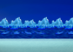 sonic 3 Ice cap zone HD by supersilver27