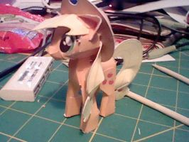 Applejack Papercraft by munkyface710