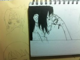 Comparing my old drawing to a recent one by Kawaaaai