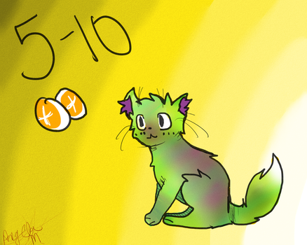 5-10 POINT CAT ADOPT Closed by Smosher247