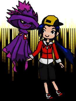 My partner Mismagius by PhantasmagoricRS