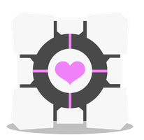 Companion Cube ID by Toob-Rat