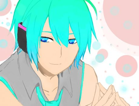 Mikuo! by crystalbloom247