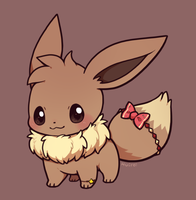 Eevee by huiro