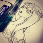 First sketch of the year. by carnificor