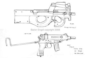FN P90 Vz61 Skorpion by Baron-Engel