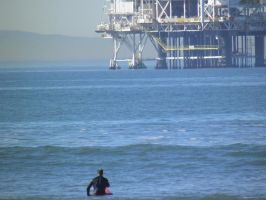 Newport Beach Ca surfer by bwall49
