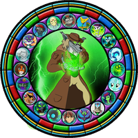Inkheart7 Stained Glass Window by Inkheart7