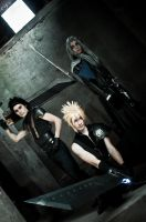 Zack x Cloud x Sephiroth by GIOVANNIMICARELLI