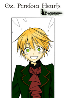 Oz.Pandora-Hearts.Colored by BlacknessSoul