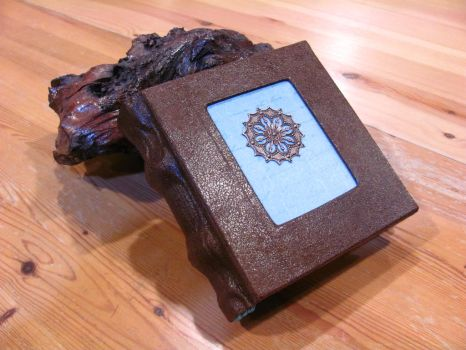 Brown and Blue Book by Swashbookler