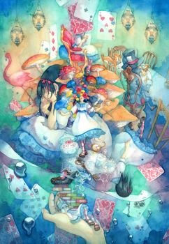Alice in Wonderland by syuka-taupe
