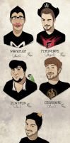 Youtubers! by lindaleia