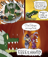 Tragedy at the Top-Middle Tower by PurpleKama