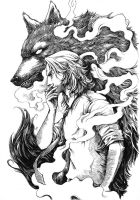 Bigby Wolf (The Wolf Among Us) by Rachta