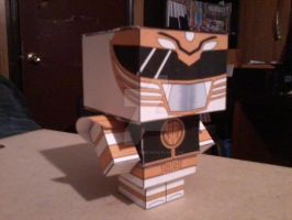 White Ranger CubeeCraft by SuperVegeta71290