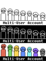MultiUser Account by BloodhoundYellow
