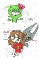 Mossy Annie and shade by Kittychan2005