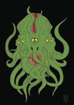 Cthulhu WIP by UselessHopeless