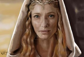 Lady Galadriel by Beth-Gilbert