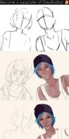 Life is Strange Step by Step - Preview by GreyRadian
