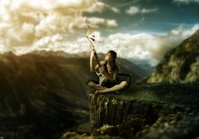 Music On A Cliff   BM by firespaceneo